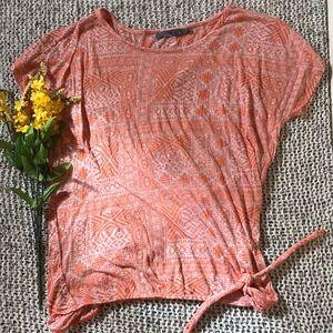 Prana Small coral t-shirt